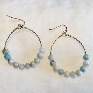 Jewelry - Natural Bead Earrings